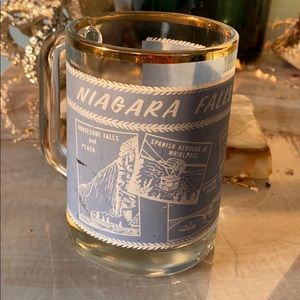 Niagara Falls glass vintage